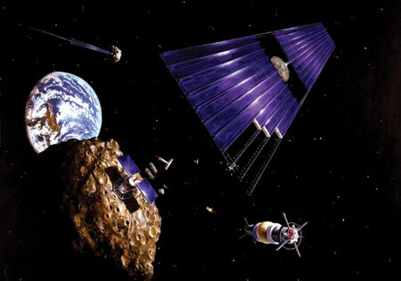 Space mining market expected to reach US$2.84bn by 2023