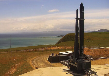 Next generation Electron booster on the pad for Rocket Lab's tenth mission