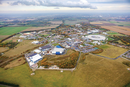 Harwell on track to hit 2030 target